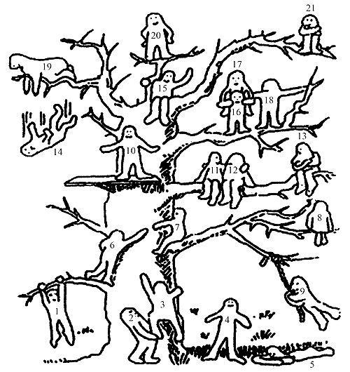 Человечки с подписями